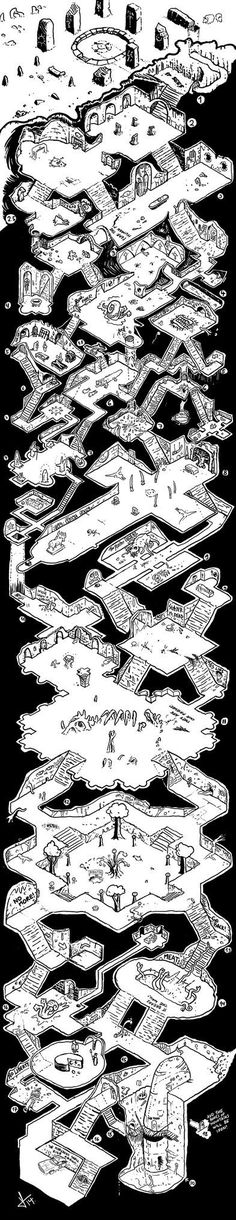 Tower of Down Map: