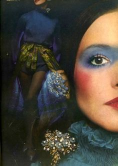 Photo by Barry Lategan for Vogue, UK, 1971