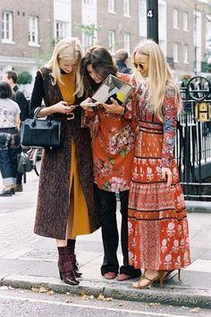 London Fashion Week SS 2016....Candice + Hedvig + Martha