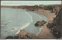 The Sands and Great Western Hotel, Newquay, Cornwall, 1910 - Valentine's Postcard