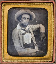 "This view of James Buckner ""Buck"" Barry (1821-1906) is the earliest known photographic image of a genuine Texas Ranger, as opposed to later Ranger activities as an adjunct to United States Army operations."