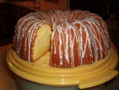 This is the most ultimate rich dense buttery pound cake! no lein this cake but the eggs- for best results this cake should be baked a day ahead and wrapped in plastic, or it can be frozen for up to 3 months, servings is of coarse estimated -  this is wonderful served with a blueberry or strawberry sauce :) No Bake Desserts, Just Desserts, Delicious Desserts, Dessert Recipes, Yummy Food, Dessert Food, Food Cakes, Cupcake Cakes, Cream Cheese Pound Cake