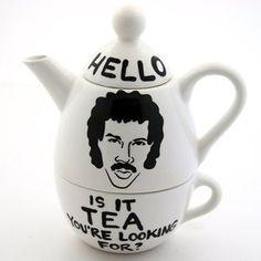 Hello, Lionel Ritchie Teapot.