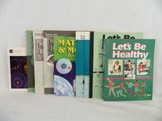 ABeka Matter & Motion Science / Lets Be Healthy Student & Keys, 8th Health bks #TextbookBundleKit