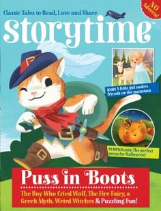 Storytime Magazine - great style & colors. Accept illustrators' digital portfolios for review.