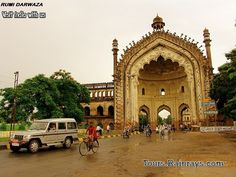 Tourist Attraction India: Lucknow Attraction | tourist place Lucknow : Rumi Darwaza