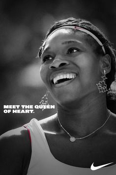 The Queen of Tennis. Serena Williams.
