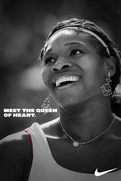 The Queen of Tennis. Serena Williams.