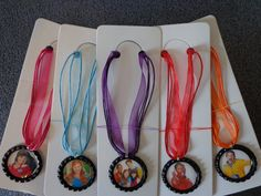 Fresh Beat Band Necklaces, Party Favors. $10.00, via Etsy.