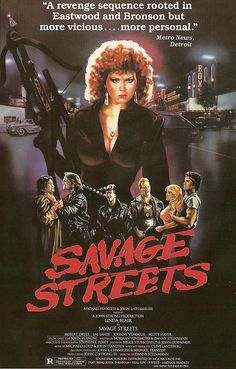 """Savage Streets"" (1984) movie poster #vandroid"