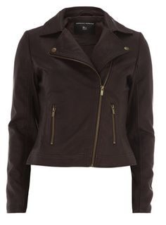 Burgundy Leather Look Biker Jacket Winter Wardrobe, Simple Outfits, Cut And Color, Biker, Jackets For Women, Burgundy, Leather Jacket, Plus Size, Trending Outfits