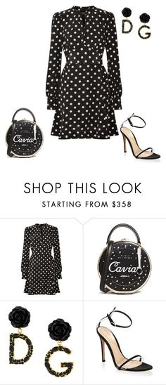 """Untitled #5962"" by teastylef ❤ liked on Polyvore featuring Marc Jacobs, Kate Spade, Dolce&Gabbana and Gianvito Rossi"