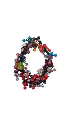 Necklaces : Necklace Multi Pompons