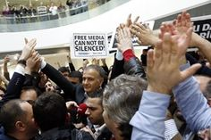Journalists arrested, under suspicious legal circumstances