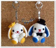 amigurumi mascot, rabbits