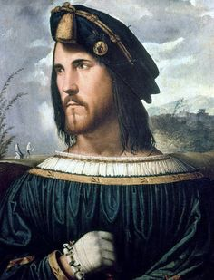 Altobello Melone (1490–1543) - Portrait of a gentleman, thought to be Cesare Borgia by petrus.agricola, via Flickr