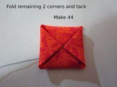 Hydrangea folding