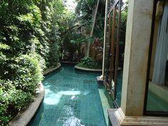 Pool at Sawasdee Village Hotel, Phuket, Thailand.