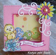 Ricordi di Carta-frame card