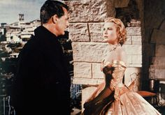 Publicity photograph of Grace Kelly and Cary Grant (''To Catch a Thief'').