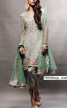 Buy Pakistani Designer Party Dresses online shopping from our collection of Indian Pakistani fancy Party wear fashion suits for USA, UK, Canada, Australia. Designer Party Wear Dresses, Indian Designer Outfits, Indian Outfits, Pakistani Dresses Online Shopping, Online Dress Shopping, Pakistani Dress Design, Pakistani Designers, Pakistani Wedding Outfits, Pakistan Fashion