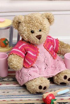 Skøn kjole og bolero til pigebamsen - Hendes Verden