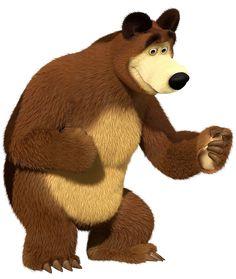 Masha and the Bear Bear Transparent PNG Clip Art Image Cartoon Cartoon, Bear Birthday, Mickey Mouse Birthday, Arabesque, Marsha And The Bear, Bear Clipart, Bear Wallpaper, Bear Party, The Good Dinosaur