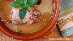 Contramuslos Estofados Rellenos / Stuffed Chicken Thighs