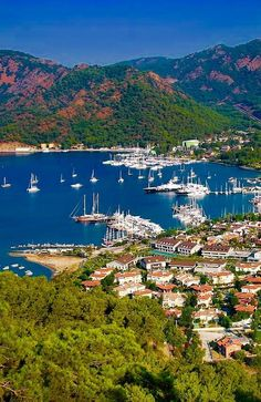 Göcek, a small town in the district of Fethiye, Muğla Turkey Holidays, Italy Holidays, Visit Turkey, Turkey Travel, Parcs, Elba, Ankara, Places To See, Travel Photography
