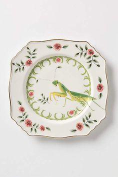 Nature Table Dessert Plate - anthropologie.com