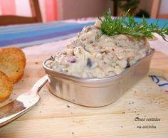 Cinco sentidos na cozinha: Paté de filetes de truta e sardinhas em conserva c...