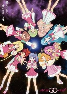 The future is bleak without entertainment. Four girls watch a rare concert by galactic group AKB0048. A group of combat idols bringing music to worlds cntrolled by DET.   Genre: Music, School Life, Science Fiction