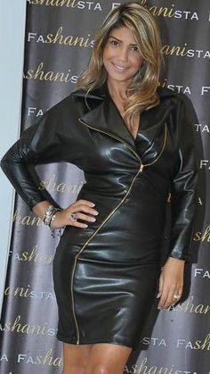 Catsuits and long gloves, thigh boots … Catsuits and long gloves, thigh boots … Faux Leather Skirt, Leather Dresses, Leather Skirts, Leather Boots, Grey Fashion, Leather Fashion, Women's Fashion, Jacket Dress, Dress Skirt