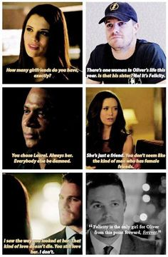 That last frame tho. My shipping heart just exploded into fairy dust and unicorn tears. #Arrow #Olicity