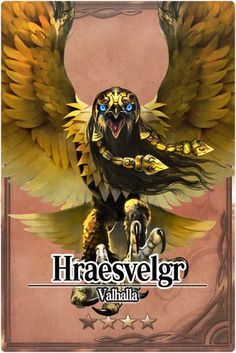 Hræsvelgr - mitologia nordica