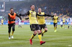 In the pocket! Roda JC wint met 2-1 van SC Heerenveen door goals van Schahin en Milts