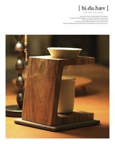 WoodenCarve Coffee stand www.biduhaev.com