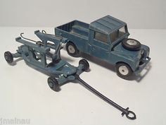CORGI Toys RAC LAND ROVER AND MISSILE TROLLEY