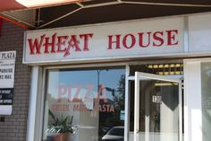 On Wheat House Pizza, Chocolate Peanut Butter Cookies, and Power Smoothies. Power Smoothie, Great Pizza, Chocolate Peanut Butter Cookies, Smoothies, Neon Signs, Street, House, Nice, Pictures