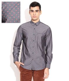 Wills Lifestyle Gray Casuals Shirt Wills Lifestyle, Workout Shirts, Dapper, Backstage, Casual Shirts, Shirt Dress, Gray, Fitness, Mens Tops