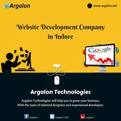 Argalon Technologies is a well-established Website Development Company, providing best outsourcing services. Our webdesign is a perfect blend of attractive design and advanced technology resulting in a simple web experience.