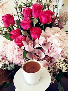 #coffee & #rose