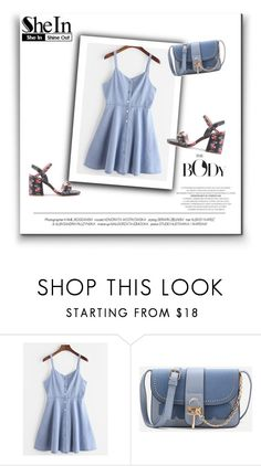 """SheIn 4/XVIII"" by nermina-okanovic ❤ liked on Polyvore featuring shein"