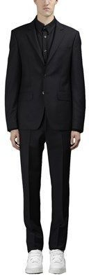 Givenchy Men's Black Wool Suit.
