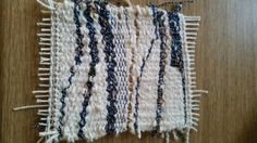 First tapestry weave .