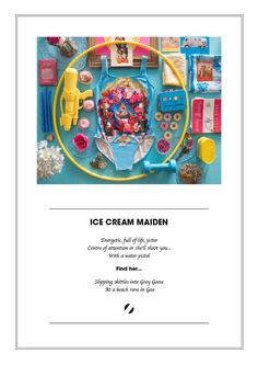 Awsome: Tablescapes for a swimwear lookbook | Ice Cream Maiden by Project 104.