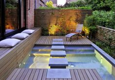 garden design ideas mini spa design for small terraced houses