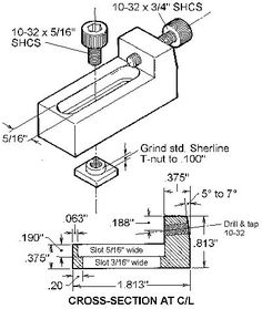 Tip 3--Horizontal mill table clamp