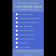 For anyone looking to become a Loan Signing Agent, I recommend checking out the @loansigningsystem  course. It's packed full of useful tips, videos and real-life scenarios to get you ready for your first signing.  Link in bio  #notary #entrepeneurship #entrepreneur #smallbusiness #selfemployed #notarypublic #mobilenotary #thebeardednotary #loansigningagent #sidehustle Make Money Today, How To Make Money, How To Become, Mobile Notary, Notary Public, Business Tips, Helpful Hints, Flexibility, Real Life