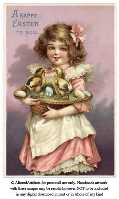 ALTERED ARTIFACTS: Happy Easter Free Printable